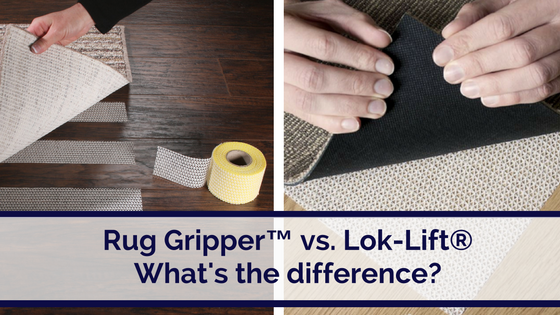 What Is The Difference Between Rug Gripper And Lok Lift 174