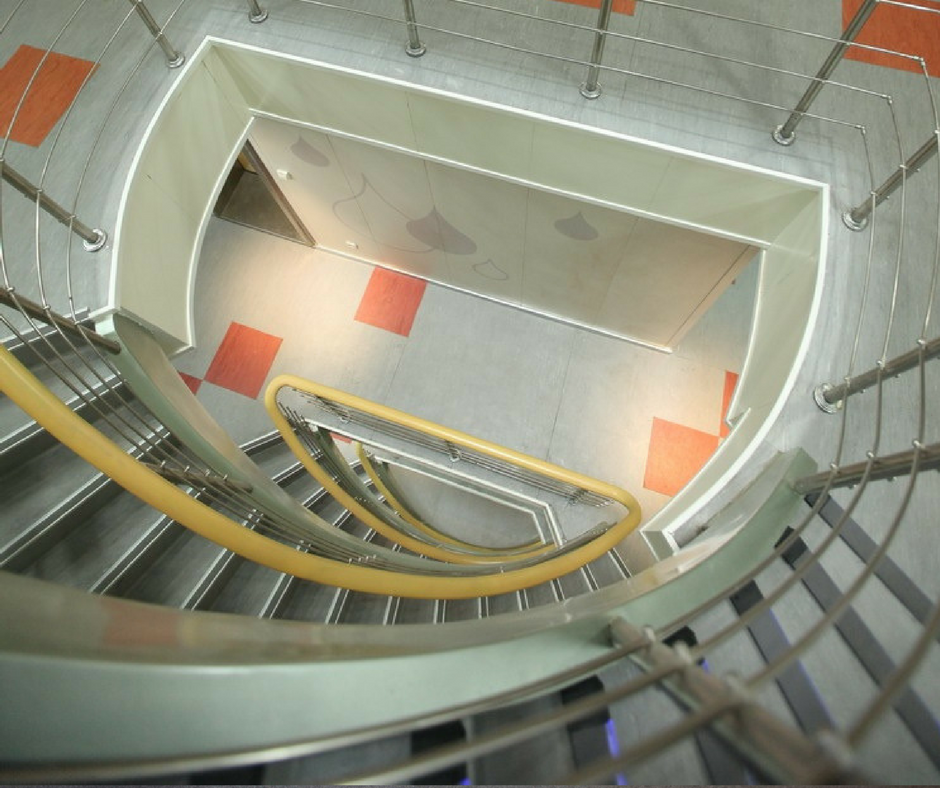 Awesome Curved Radial Staircase.png