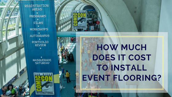 How Much Does It Cost To Install Event Flooring