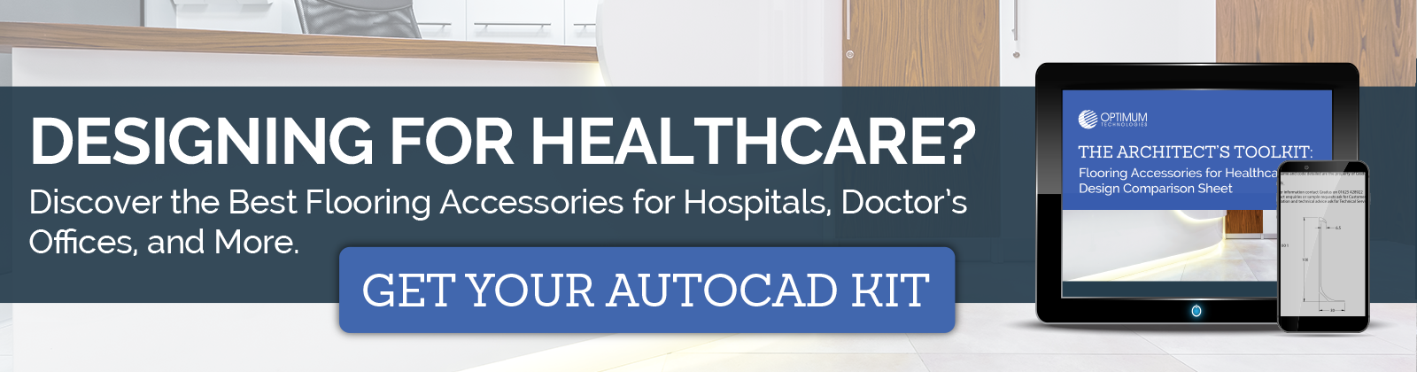 Healthcare Flooring Accessories AutoCAD Kit