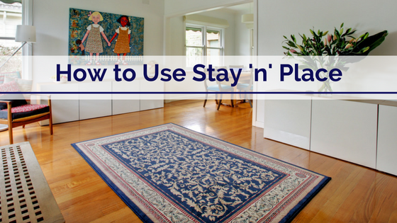 How To Use Stay N Place Png
