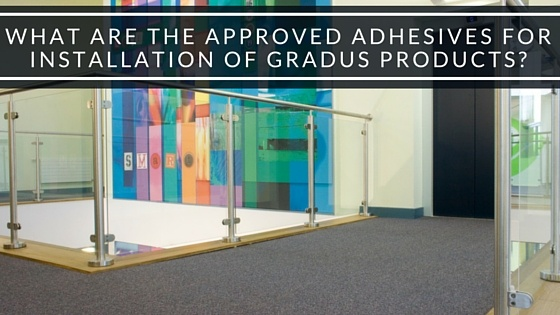 What Are The Approved Adhesives For The Installation Of